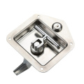 Silver Mirror-Polished SS Panel Locks