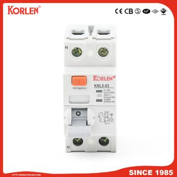 Residual Current Circuit Breaker s type 6ka 125A