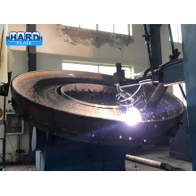 Chromium Carbide Hardfacing Overlay Grinding Table