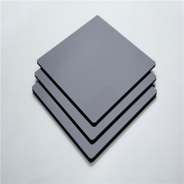 Quality black solid panel polycarbonate panel 48''x96''