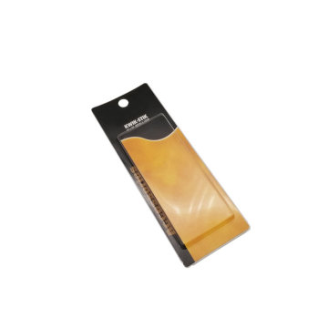 OEM disposable slide blister card board packaging