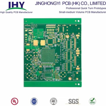 Fr4 Double Sided PCB Green Soldmask Manufacturing Service