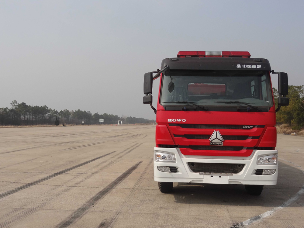 sino howo fire fighting truck 1