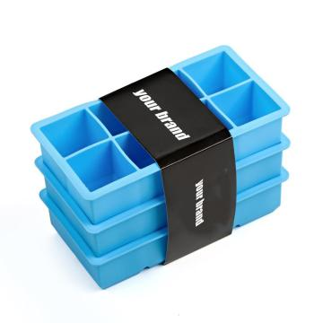Family Safe Pure Silicone Commercial Ice Trays