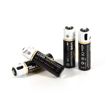 AA Rechargeable Lithium Battery