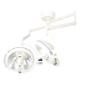 Double-head ceiling halogen operating light centre camera