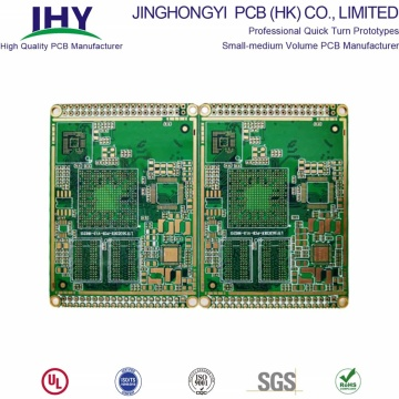 6 Layer Fr4 Material Impedance Half-hole PCB