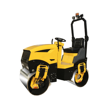 Wholesale diesel road roller for road compaction 1200kg