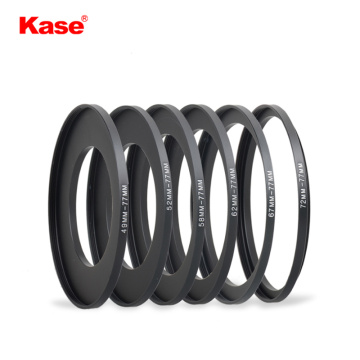 Kase 77mm Circular Filter Screw Adapter Ring For Camera Lens (49-77mm/52-77mm/58-77mm/62-77mm/67-77mm/72-77mm)