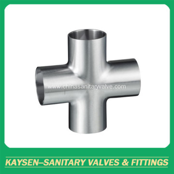 SMS/DS Sanitary short type welded cross