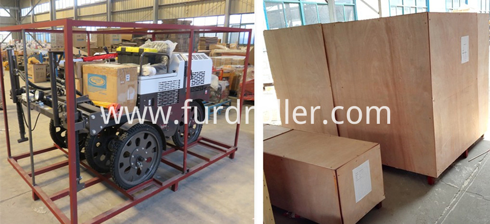 laser screed packing