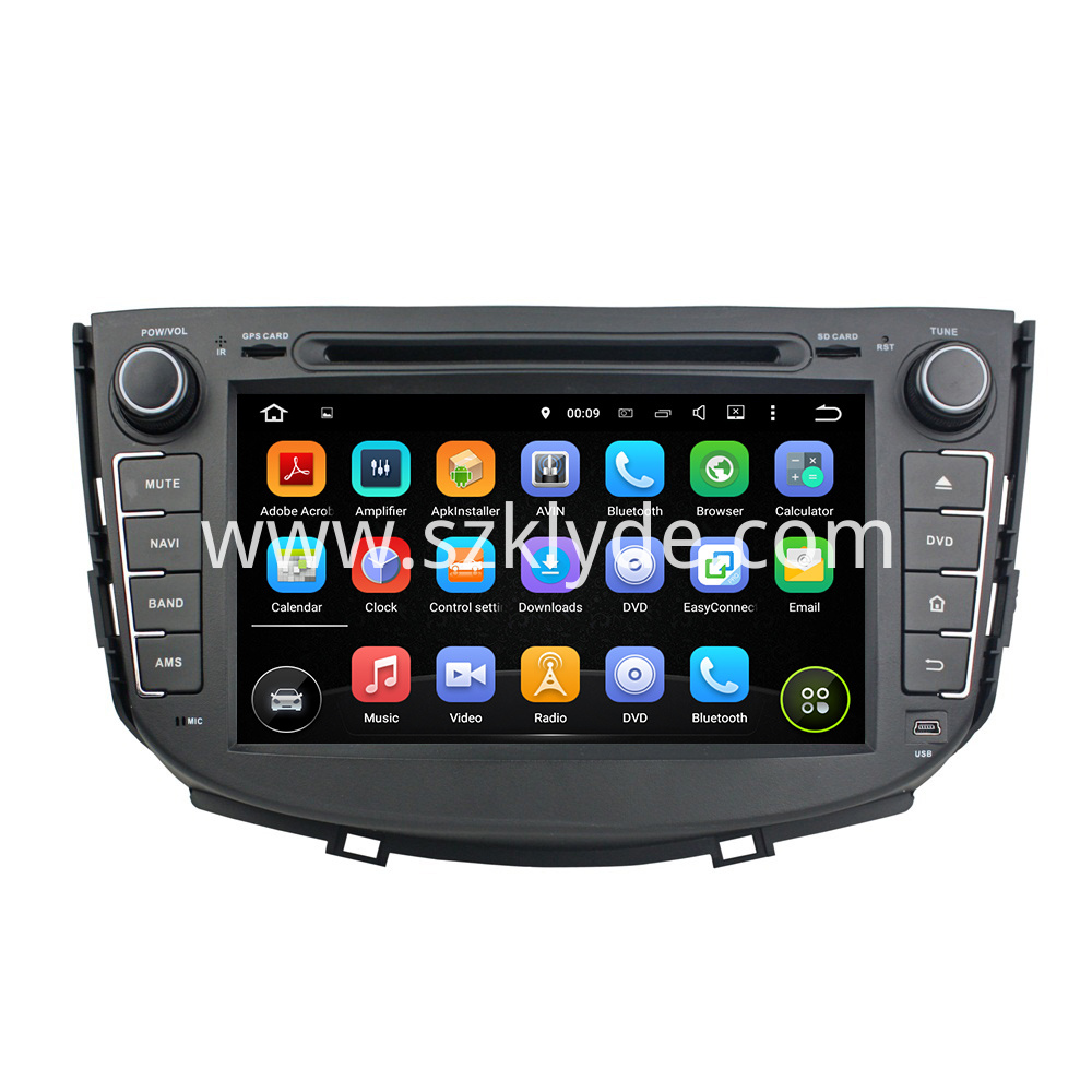 Android 5.1 LIFAN X60 Car Audio 002