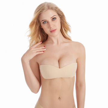 sexy women Seamless Bra Adhesive Silicone Backless