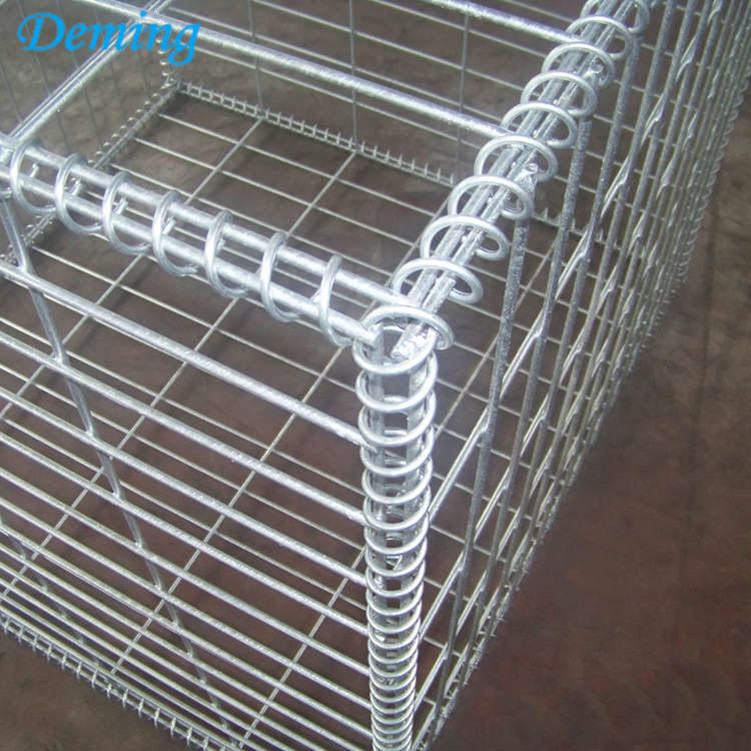 Hot Sale Hot Dipped Galvanized Welded Gabion Basket