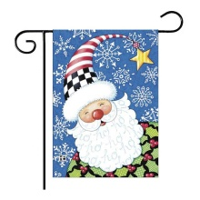 Double Sided Customized Decorative Christmas Garden Flags