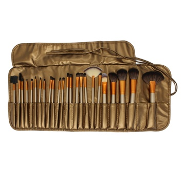 24pcs professional makeup brush set OEM makeup brushes