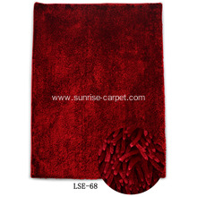 Shining Polyester Chenille Carpet