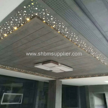Decorative waterproof bathroom fiber cement ceiling board