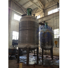 External pipe reactor/kettle reactor