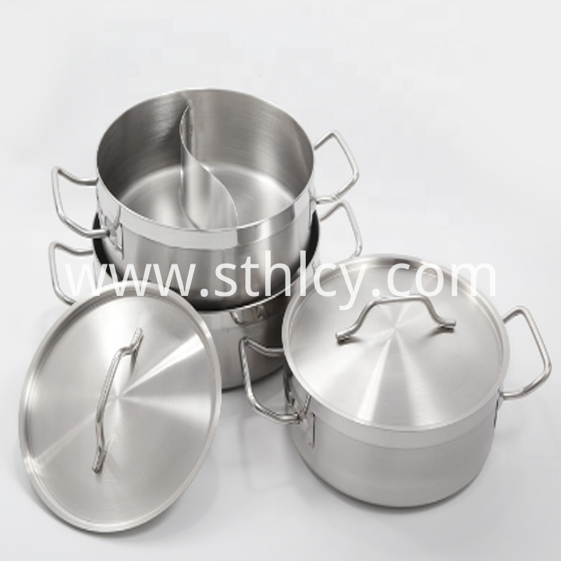 High Quality Soup Stock Pots