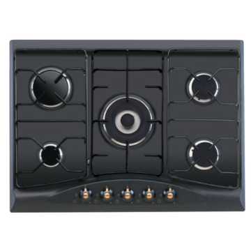 Kitchen Indesit Steel Stove 5 Burners