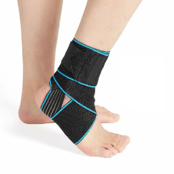 Adjustable Sports Compression Ankle Support Brace For Sprain