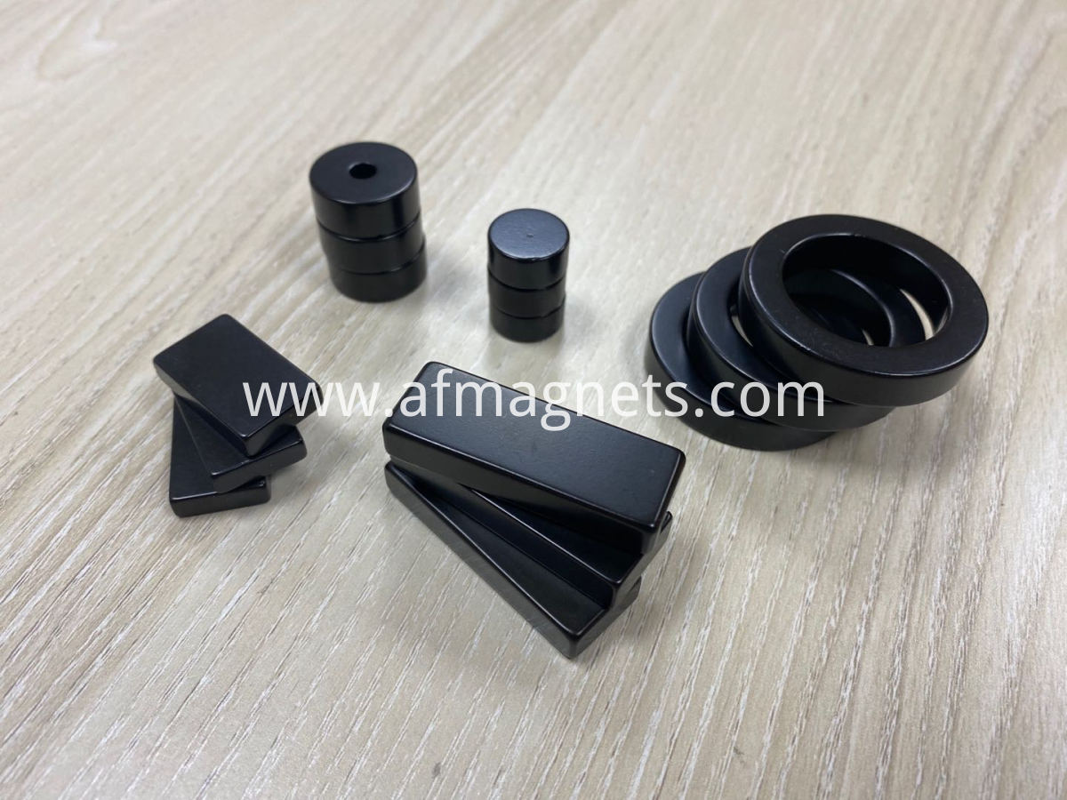 Premium Black Epoxy Coated Neodymium magnets