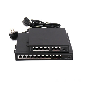 DC48-52V 96W 10pots gigabit poe switch