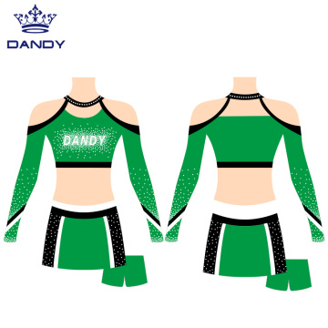 Custom Cheer Crop Top Uniforms