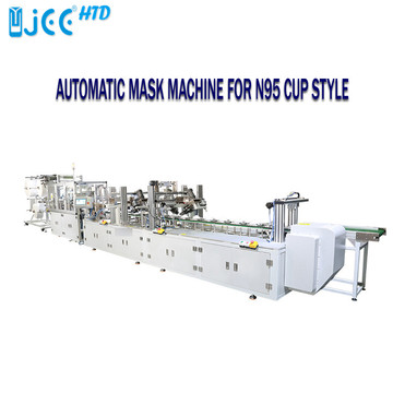 Auto Cup Shaped Face Mask Making Machine