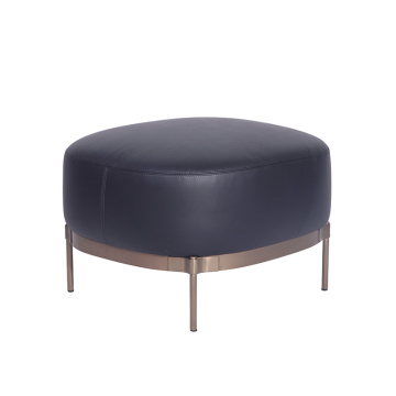 Minotti Tape Ottoman in Leather