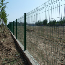 Galvanized Steel Welded Curved 3D Wire Mesh Fence