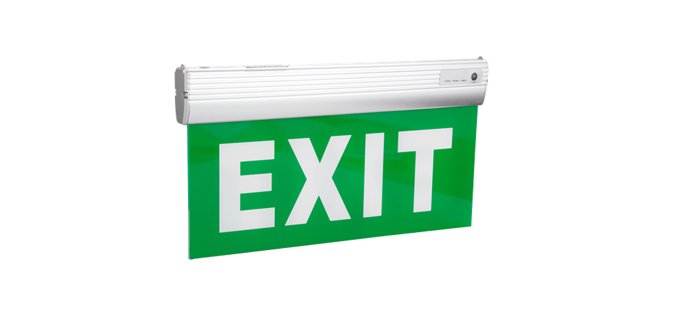 Exit Sign For Aluminum And Acrylic
