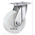 5 inch Stainless steel bracket PA  heavy duty  casters without brakes