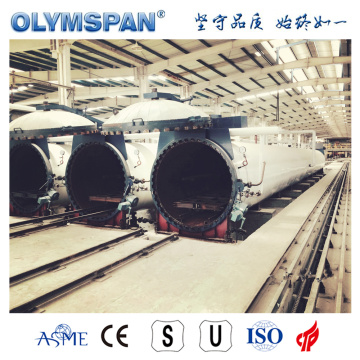 ASME standard cement CLC brick fabrication autoclave