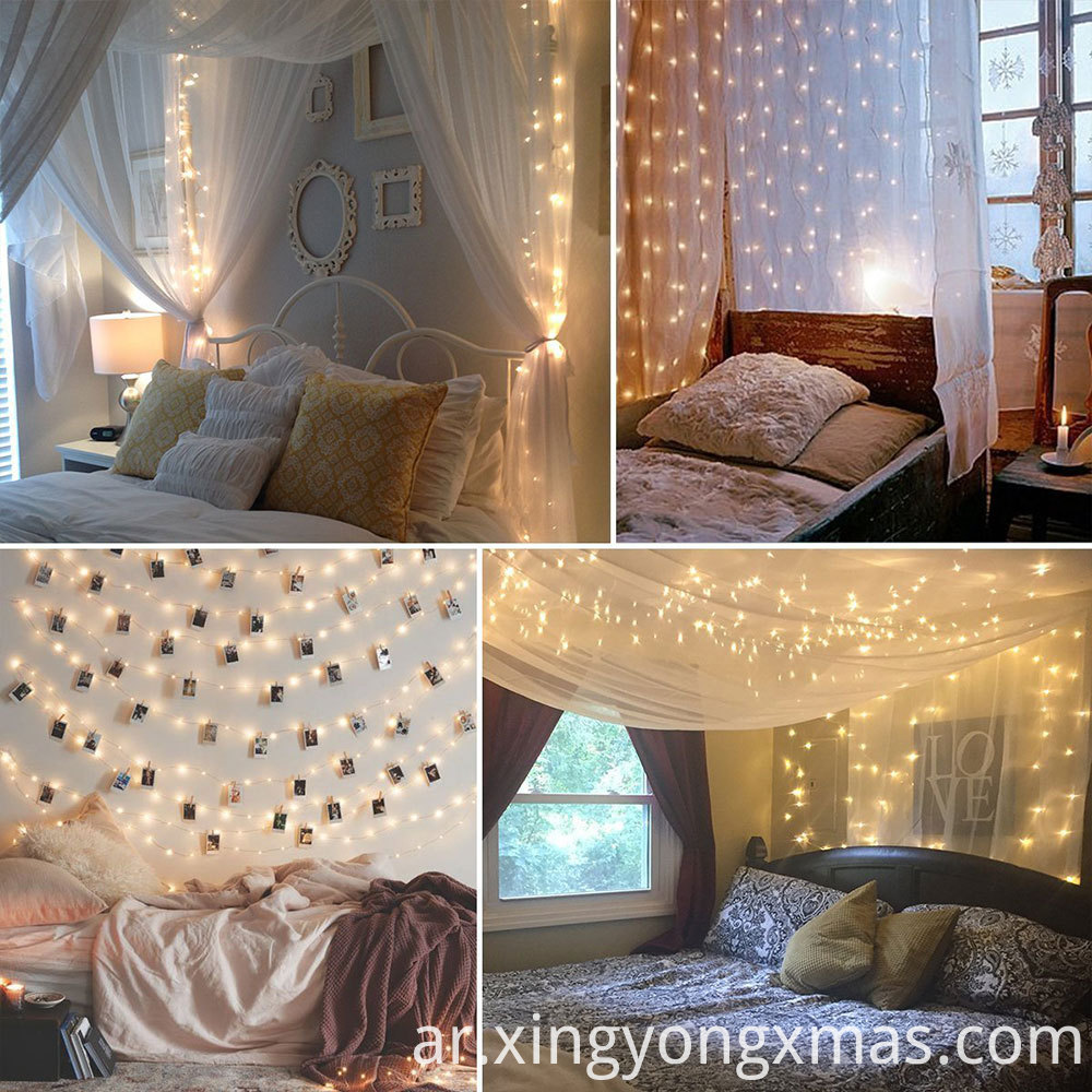 curtain string light