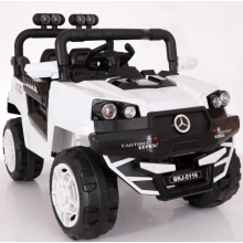 White large children's toy electric car