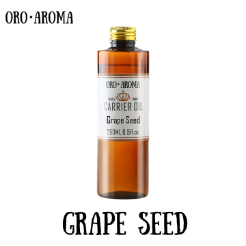 Famous brand oroaroma grape seed oil natural aromatherapy high-capacity skin body care massage spa grape seed essential oil