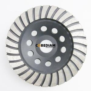 115mm Turbo Style Single Row Cup Wheel