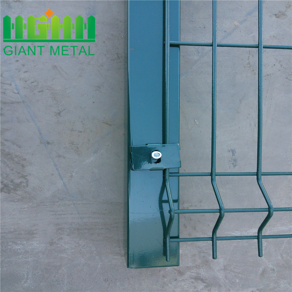 Outdoor Galvanized PVC Coated Panel Fence