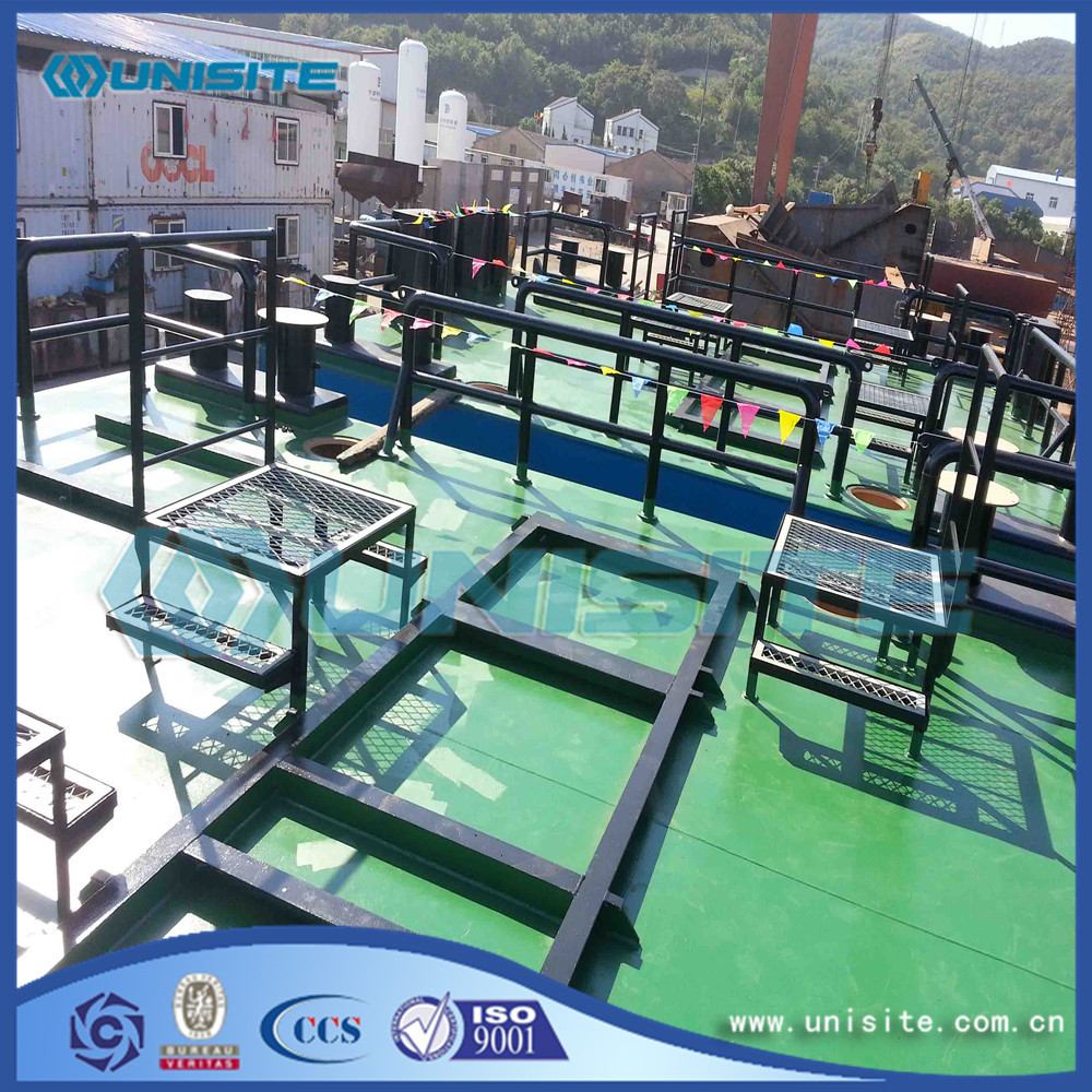 Steel floating offshore platform