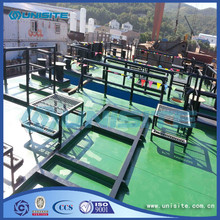 Steel floating production platform for marine