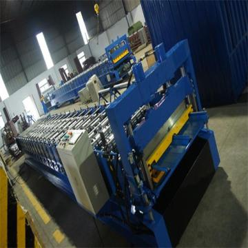 Galvanized standing seam roof panel machine