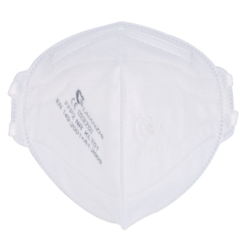 KN95 Folding Non-woven 4layers Moulded Mask ISO13485