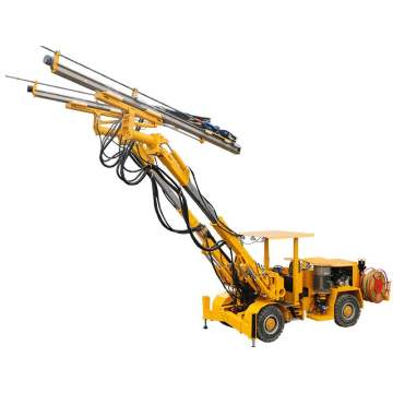 Double-boom Hydraulic Rock Drill Jumbo