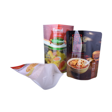 New style 3 side seal retort pouch for food