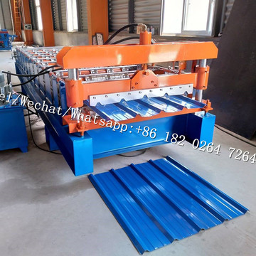 IBR Used Metal Roof Panel Roll Forming Machine