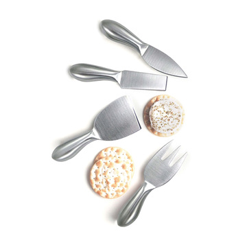stainles steel cheese set 4pcs