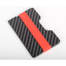 Carbon fiber card holder