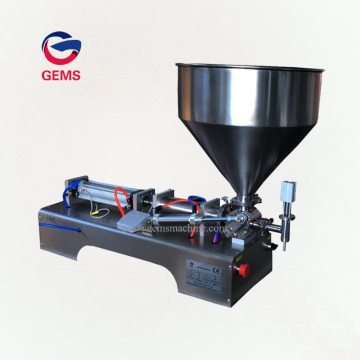 Petroleum Jelly Filler Soybean Sunflower Oil Filling Machine